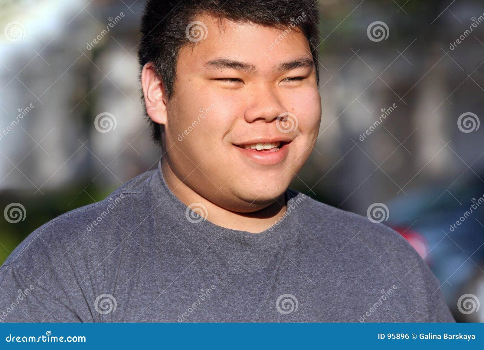 Remarkable, Fat asian teen not
