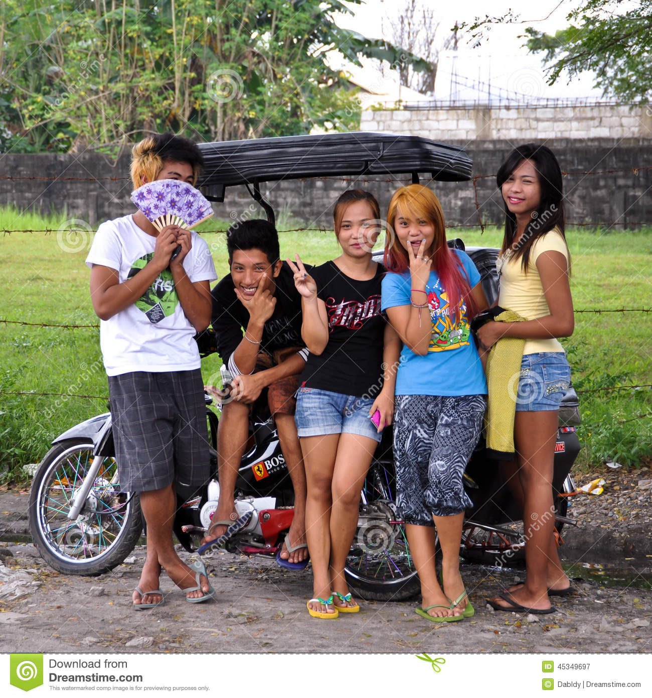 Asian Teenagers Editorial Photography - Image 45349697-5031