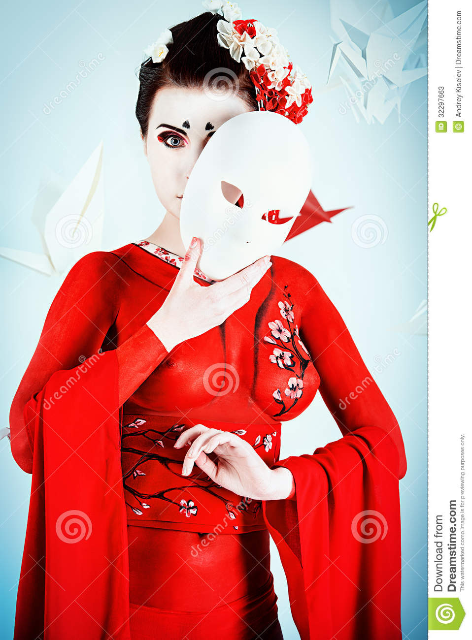 Asian Theater Stock Image Image Of Asia Japanese Body