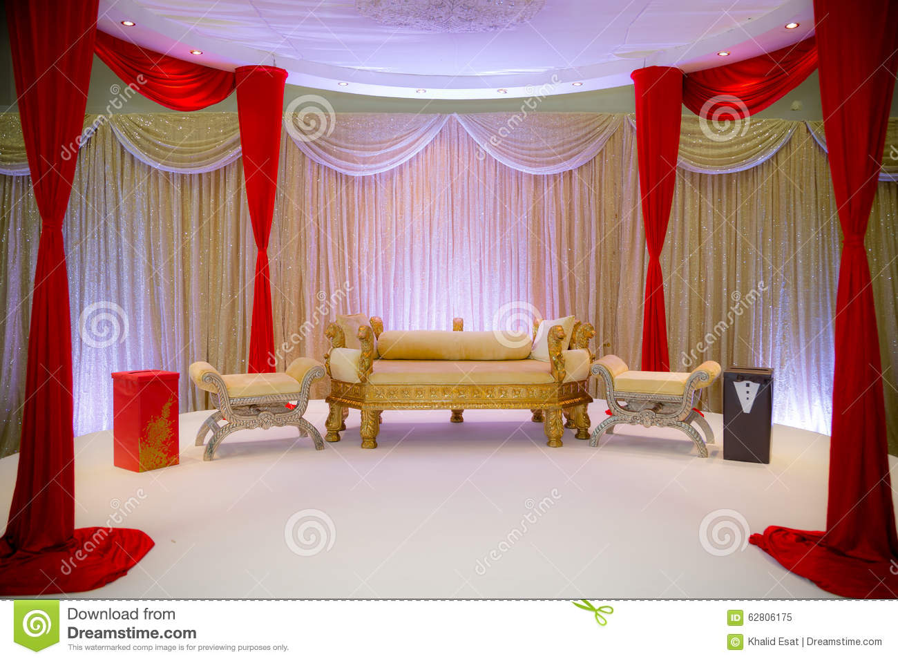 Asian wedding stage stock image image of flowers juice for Asian stage decoration