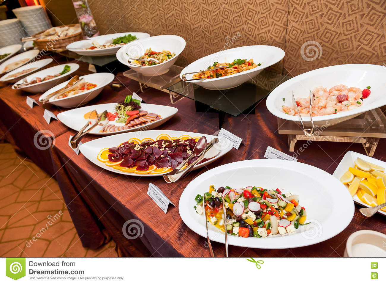 Asian and western buffet food stock image image 70179619 for Asian and western cuisine