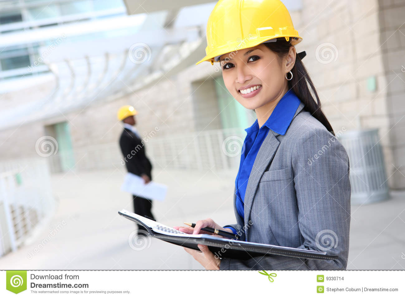 Asian woman architect stock photo image of diversity for How to be an architect