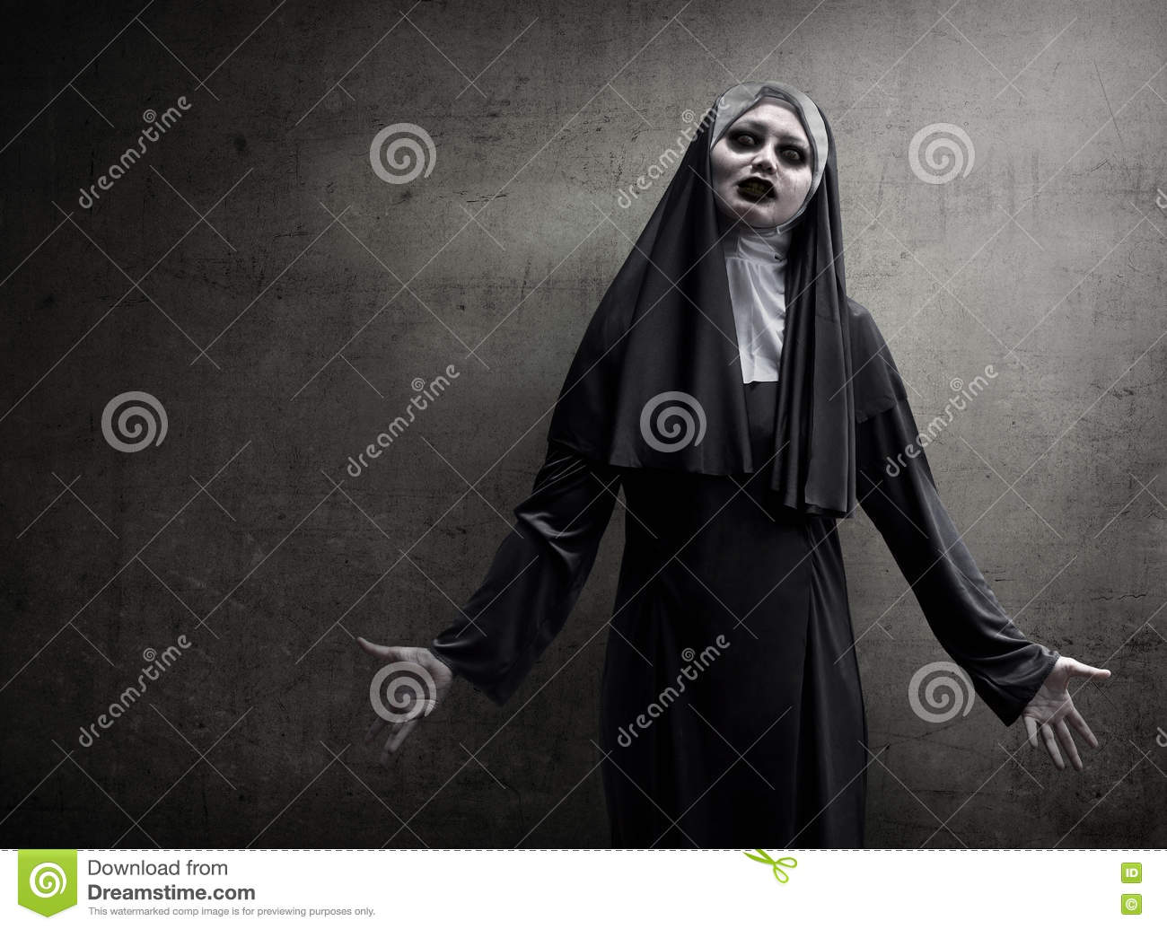 evil nun stock photos - royalty free images - dreamstime