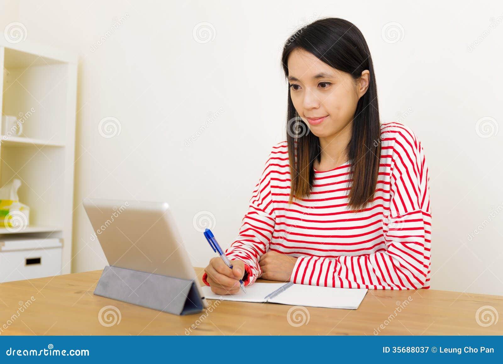 Asian Woman Learn 79