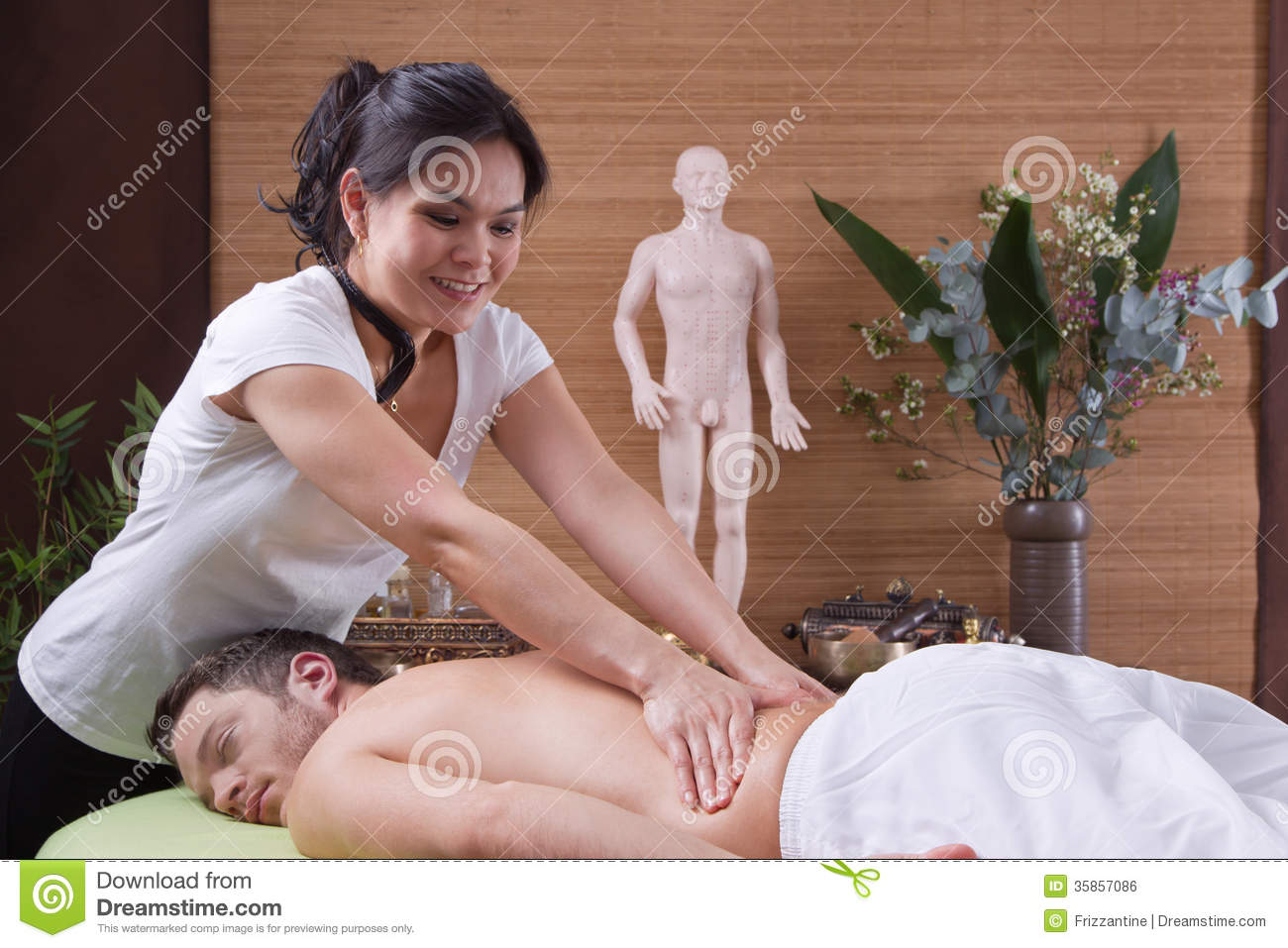 Asian massage for women