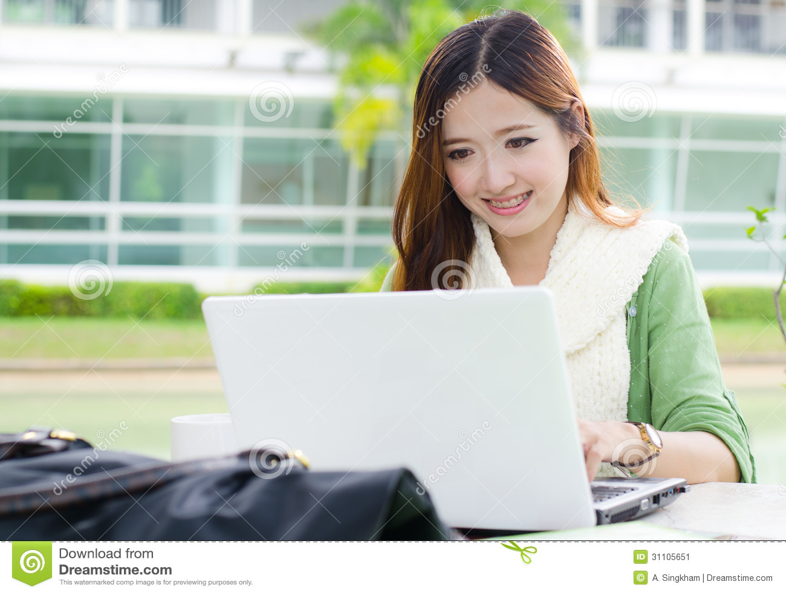 American asian student success