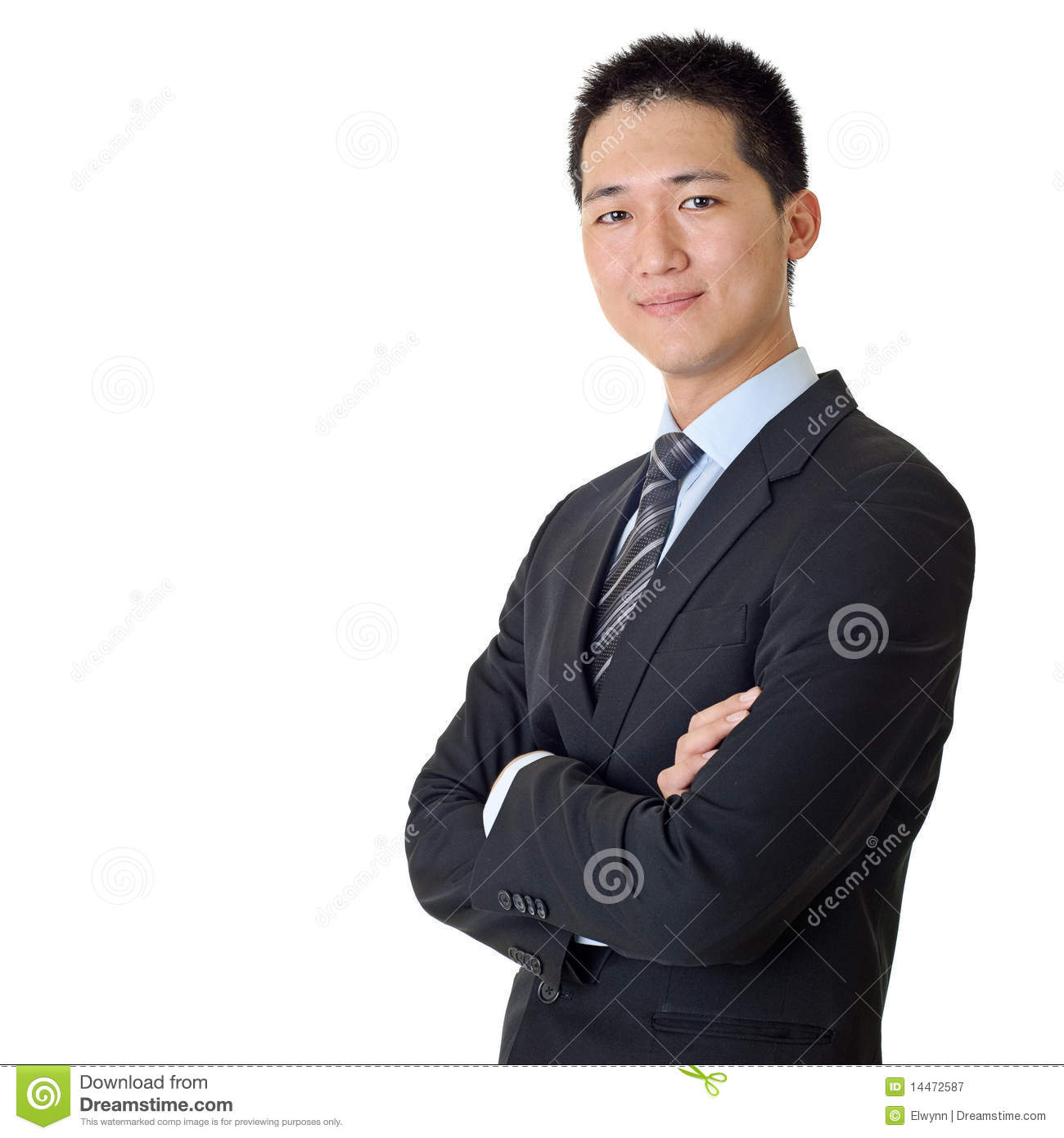 Asian Young Business Man Royalty Free Stock Photography -9113