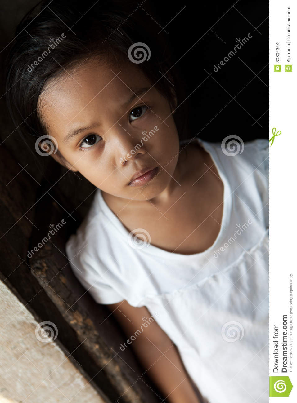 Asian Young Girl Portrait Stock Images - Image 30806364-5773