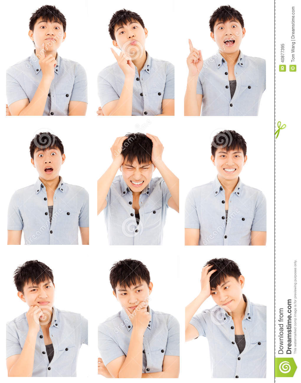 Chinese appropriate facial expressions