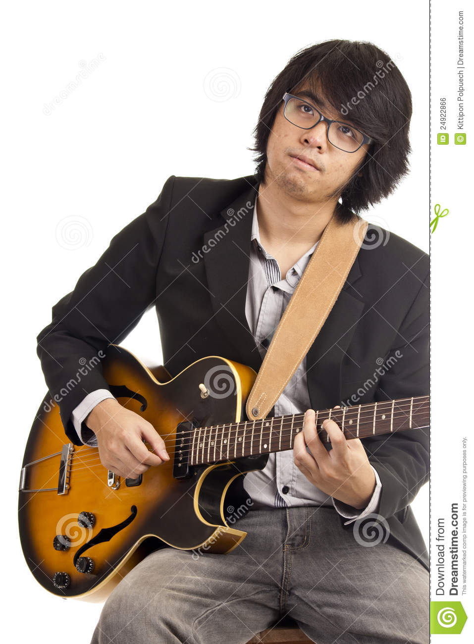 asian young musician royalty free stock image image