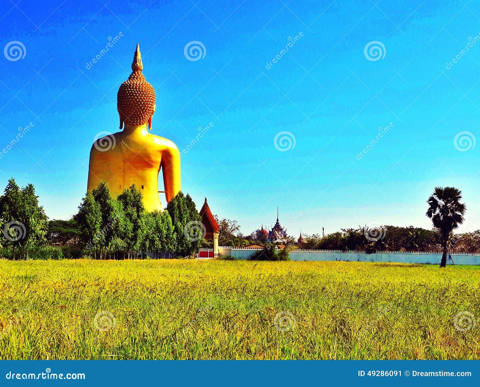 Asiastyle Van De Het Standbeeldtempel Van Boedha Van De De ...