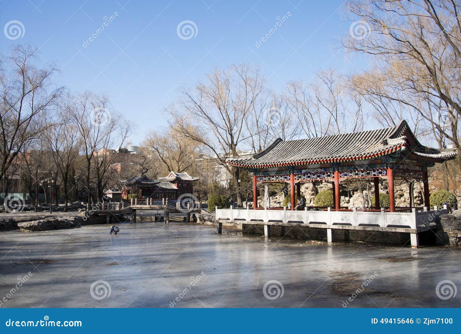 Download Asiat China, Peking, Ritan-Park Redaktionelles Foto - Bild von tourismus, winter: 49415646
