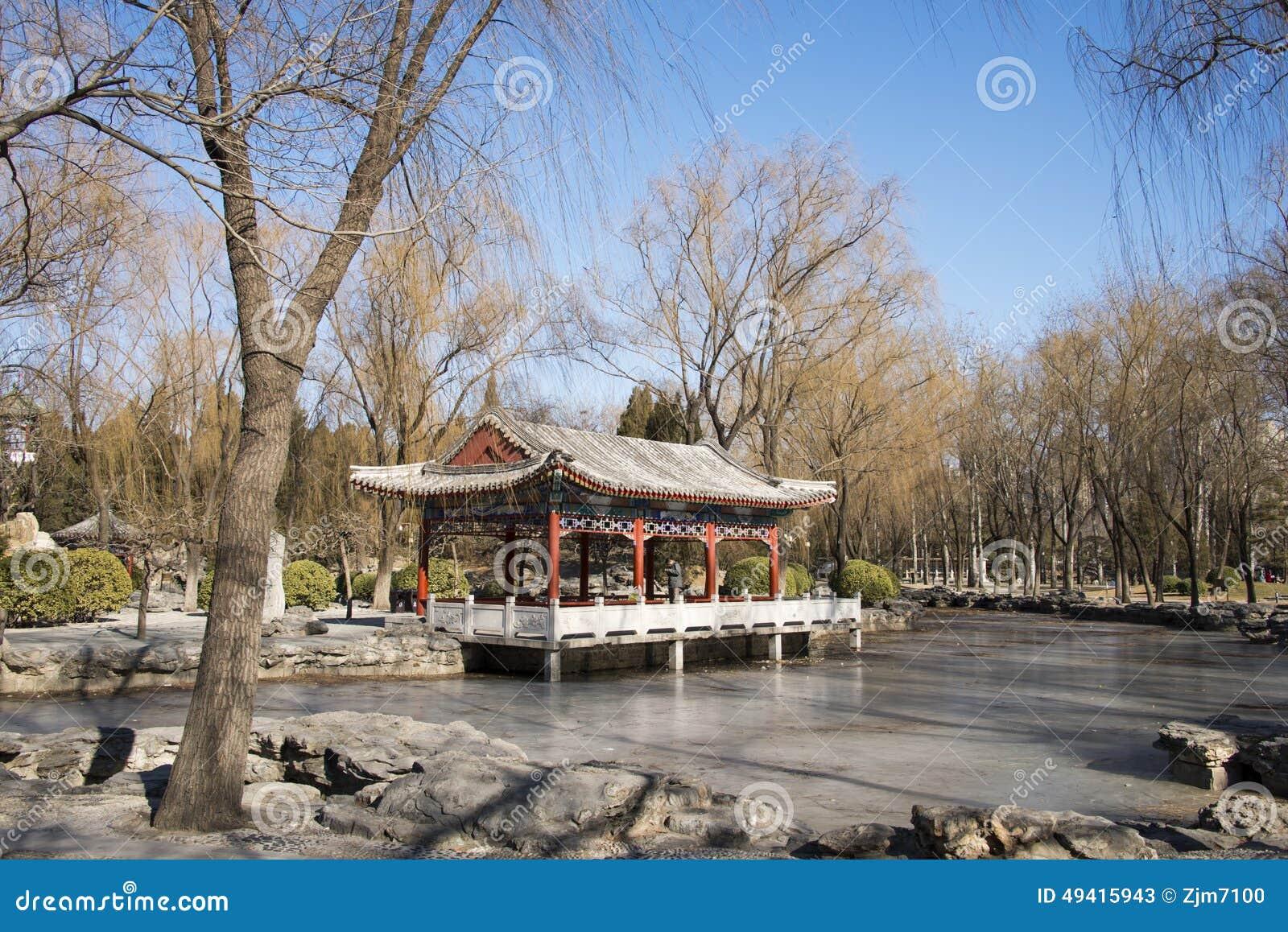 Download Asiat China, Peking, Ritan-Park Redaktionelles Stockfoto - Bild von landschaft, pavillion: 49415943