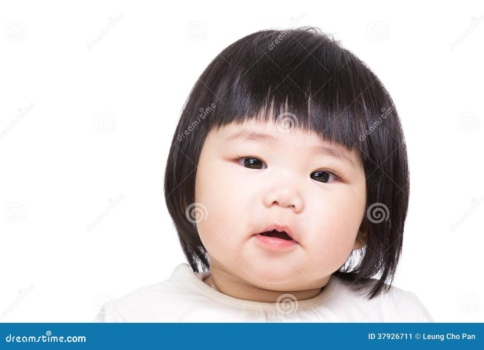 Asiatet behandla som ett barn flickan