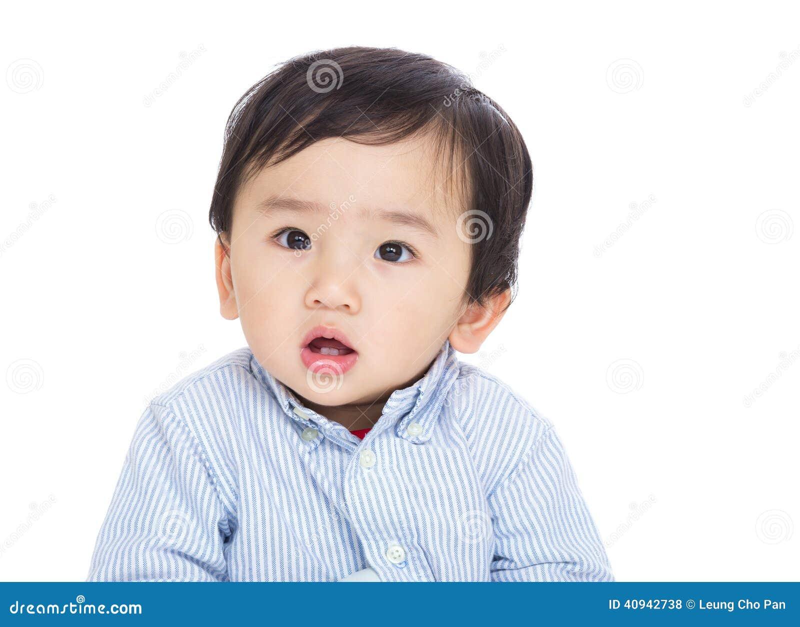 Asiatet behandla som ett barn pojken