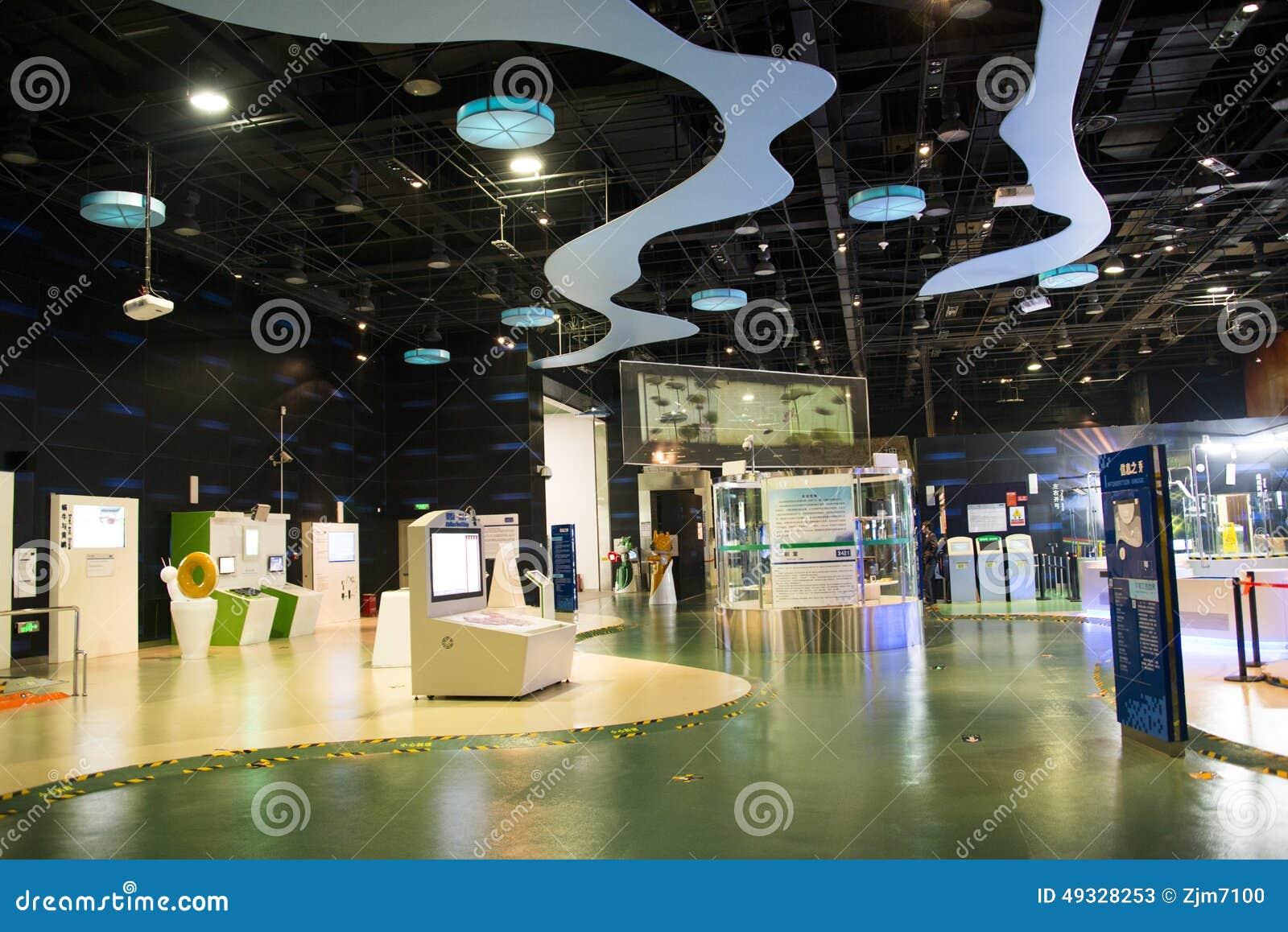 D Technology Exhibition : Asiatique chine pékin hall d exposition chinois de