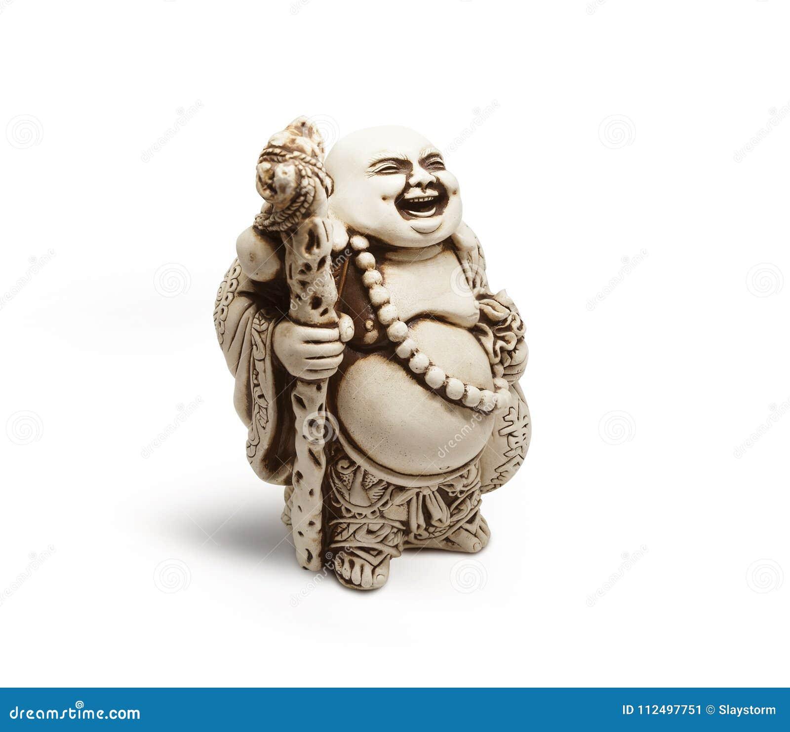 Asiatische dekorative Figürchen Hotai, Amulett holt Glück