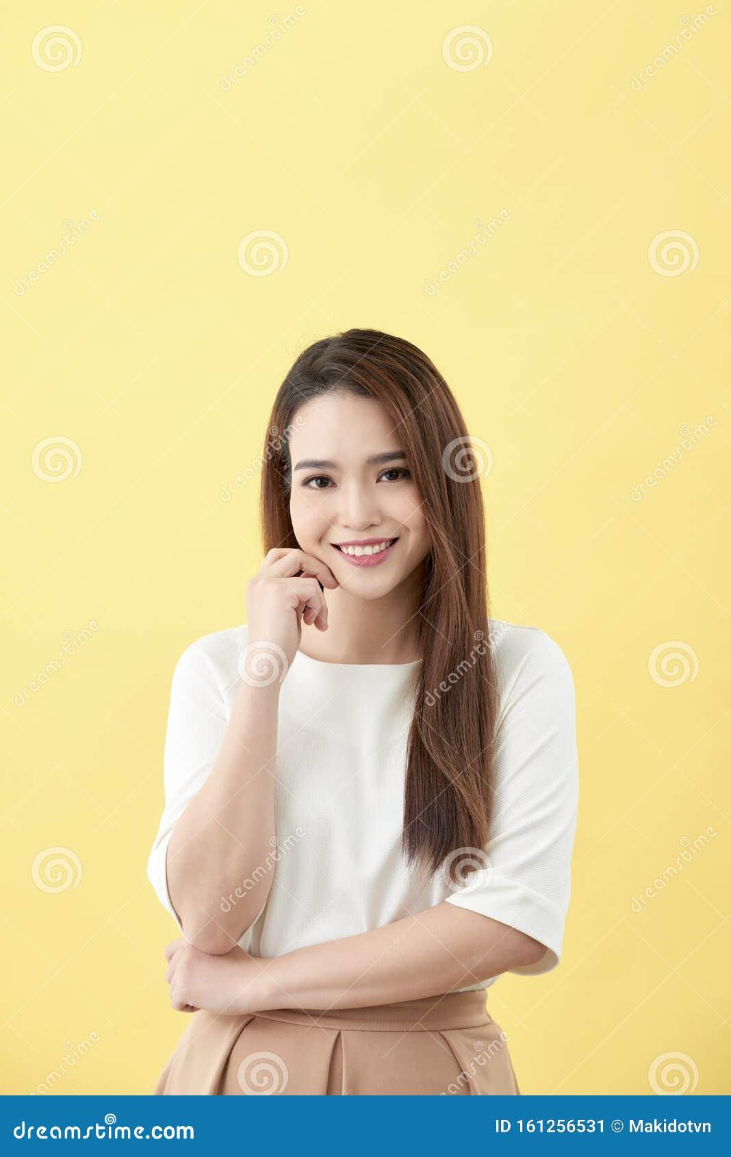 Süß Asiatisch Teen Student