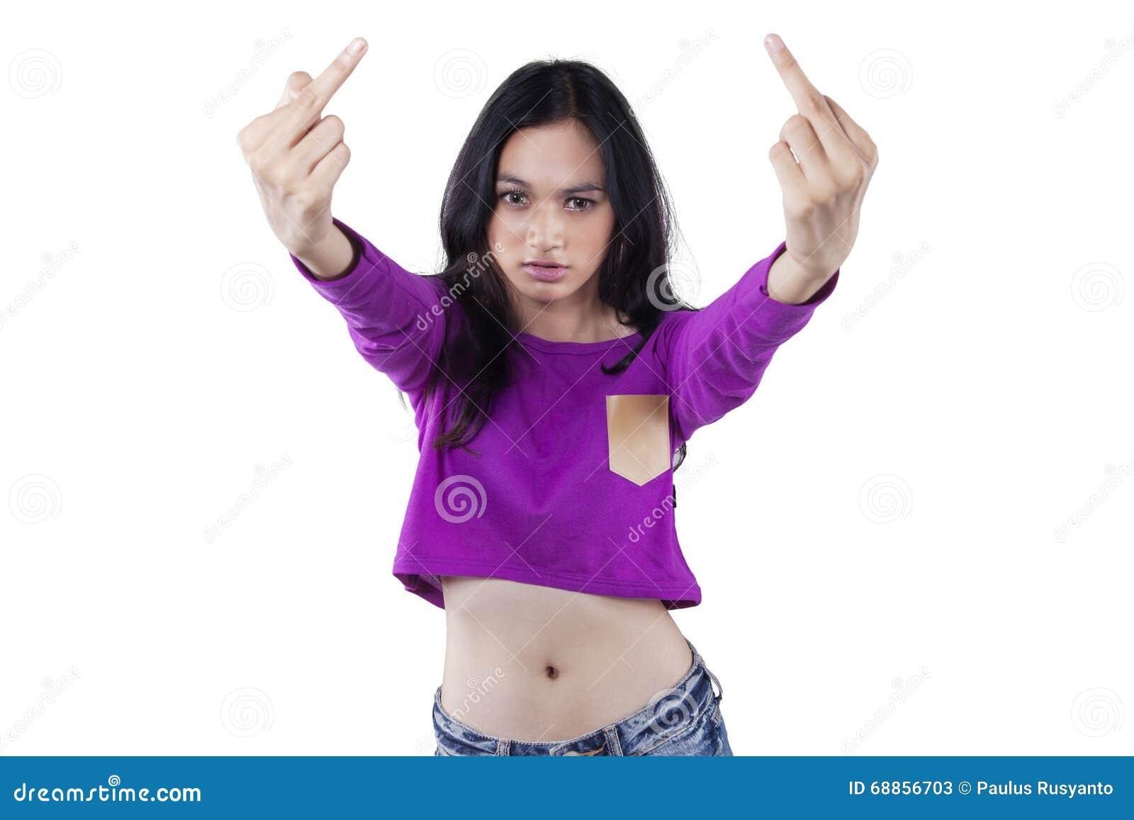 Asiatisches jugendlich stockbild Bild von drauen