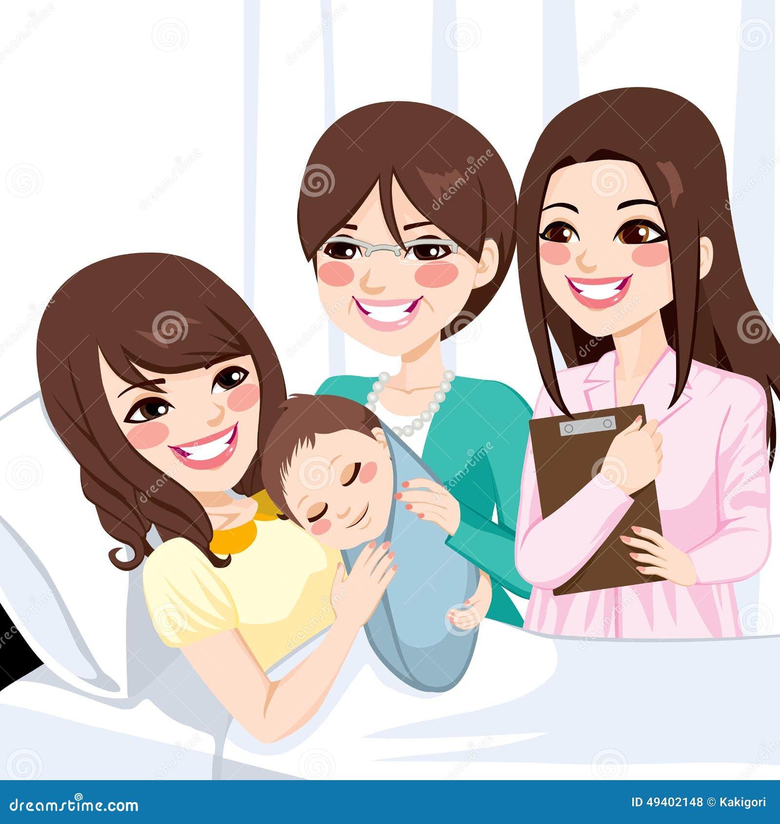 Download Asiatische Mutter, Die Neugeborenen Jungen Umarmt Vektor Abbildung - Illustration von getragen, check: 49402148