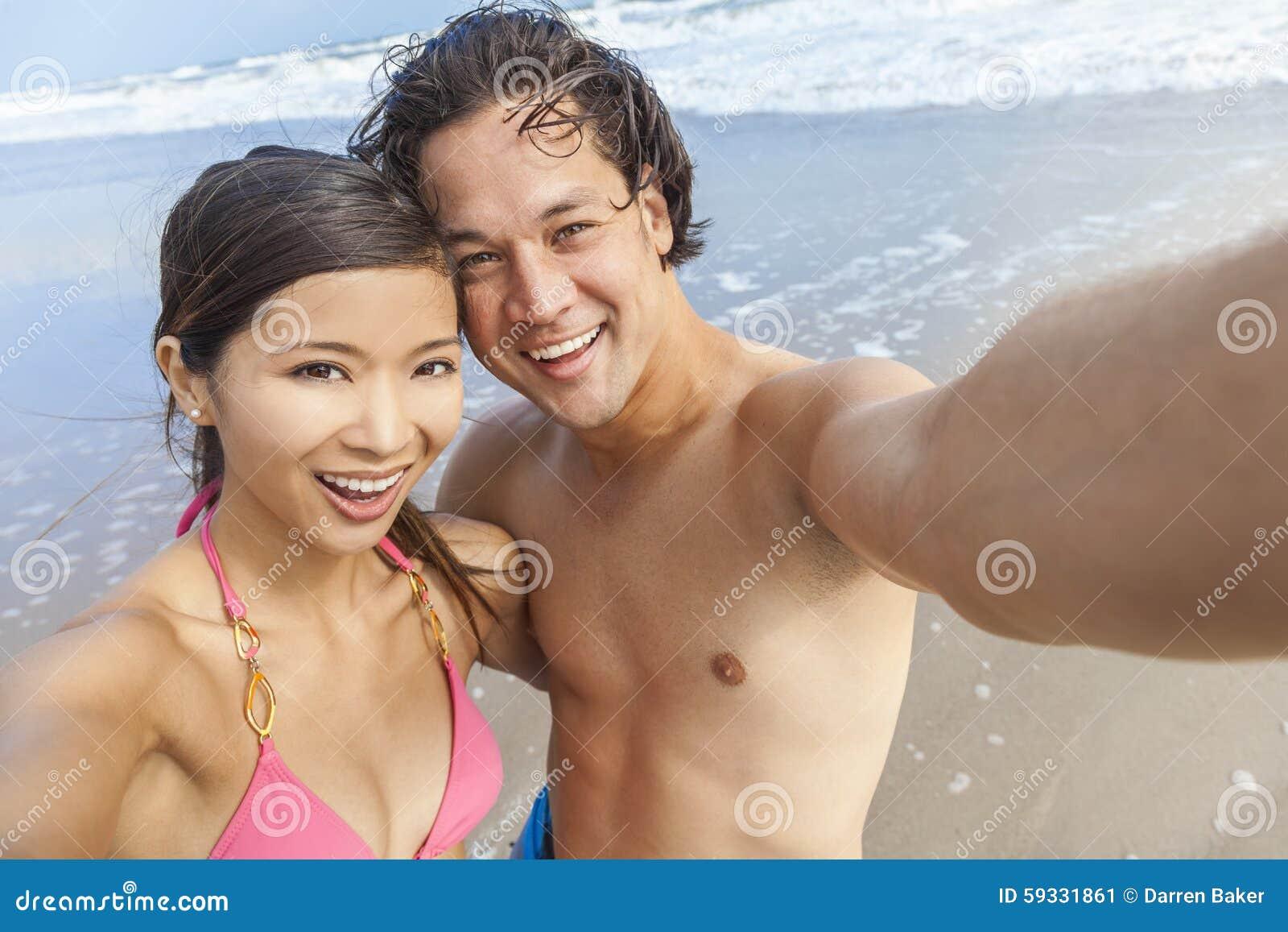 Asiatische Sexparty Am Strand