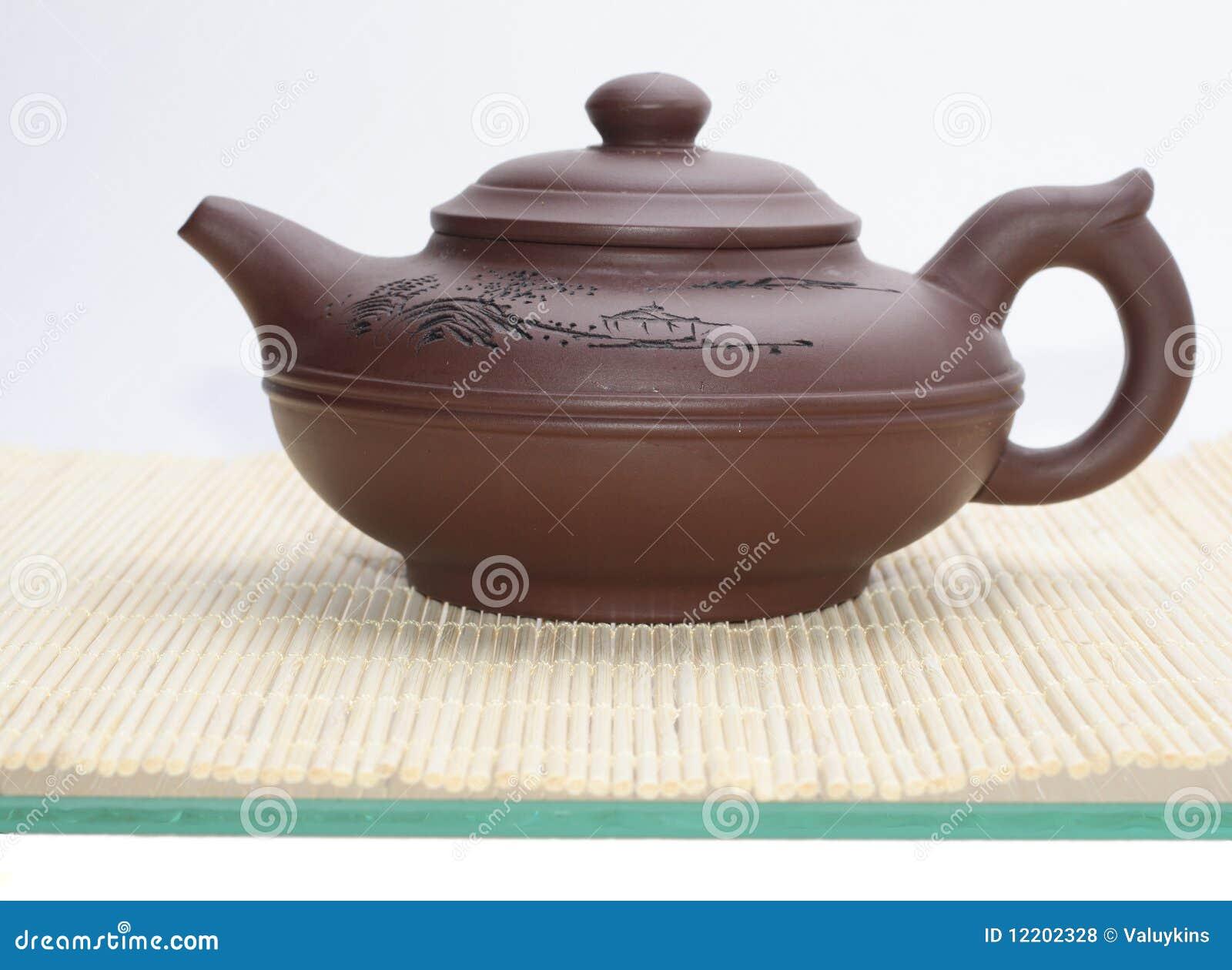 Asiatische Teekanne
