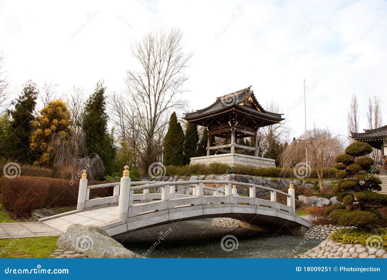 asiatischer garten stockbild bild von asien asiatisch 18009251. Black Bedroom Furniture Sets. Home Design Ideas