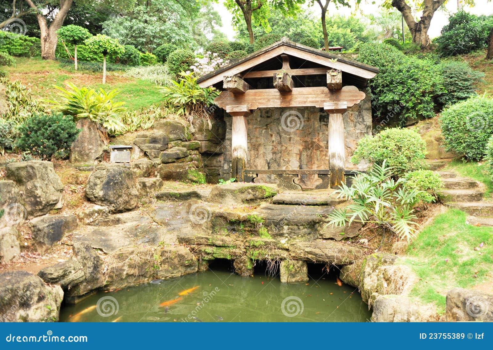 Asiatischer Garten stockbild Bild von garten asiatischer
