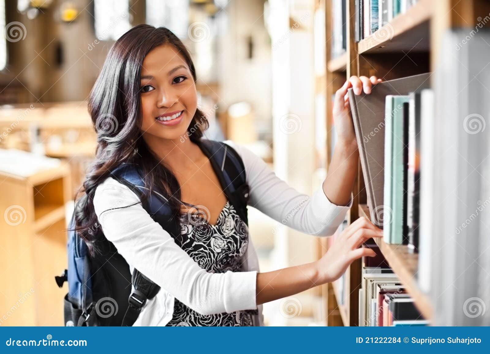 Asiatischer Student