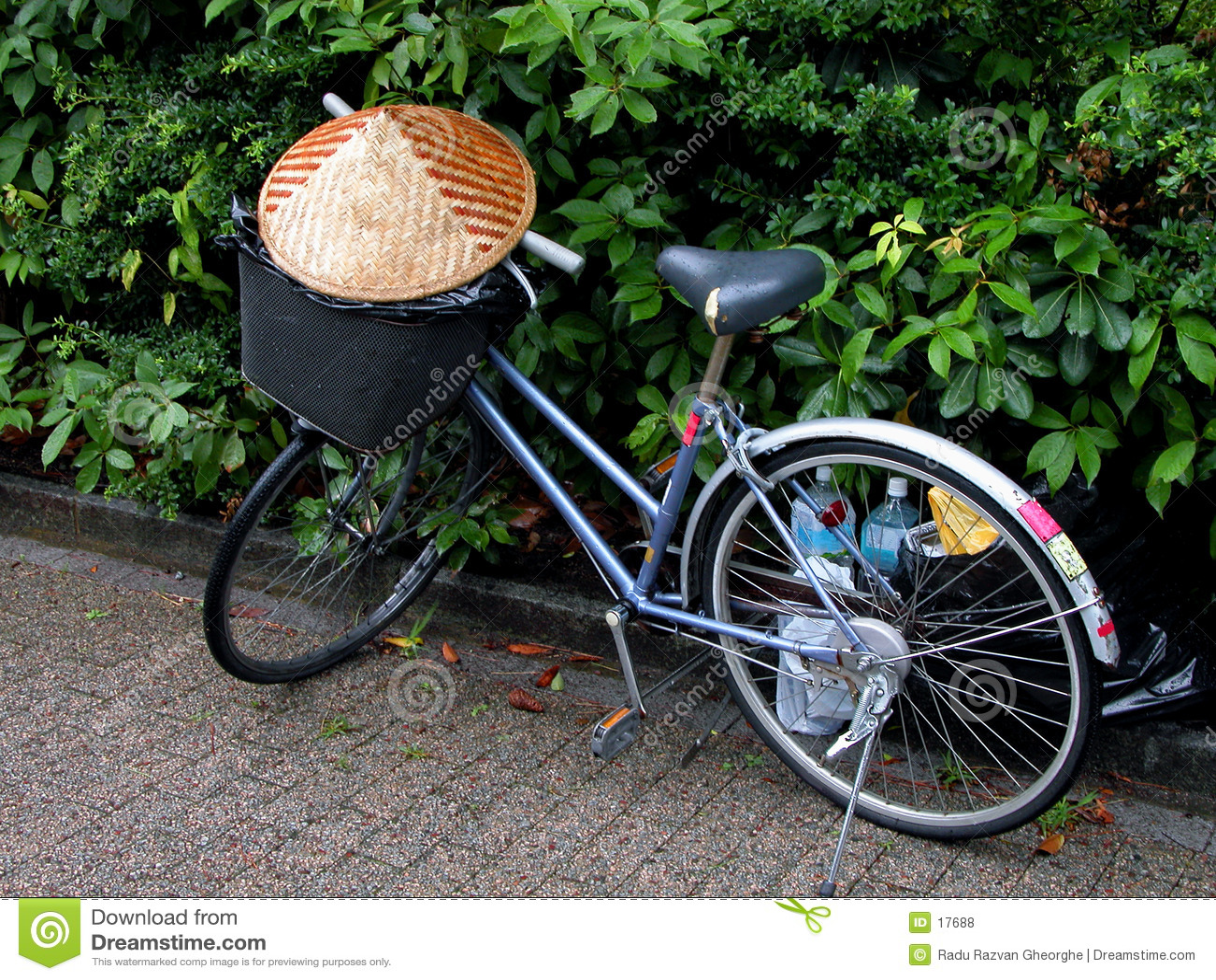 Asiatisches Fahrrad