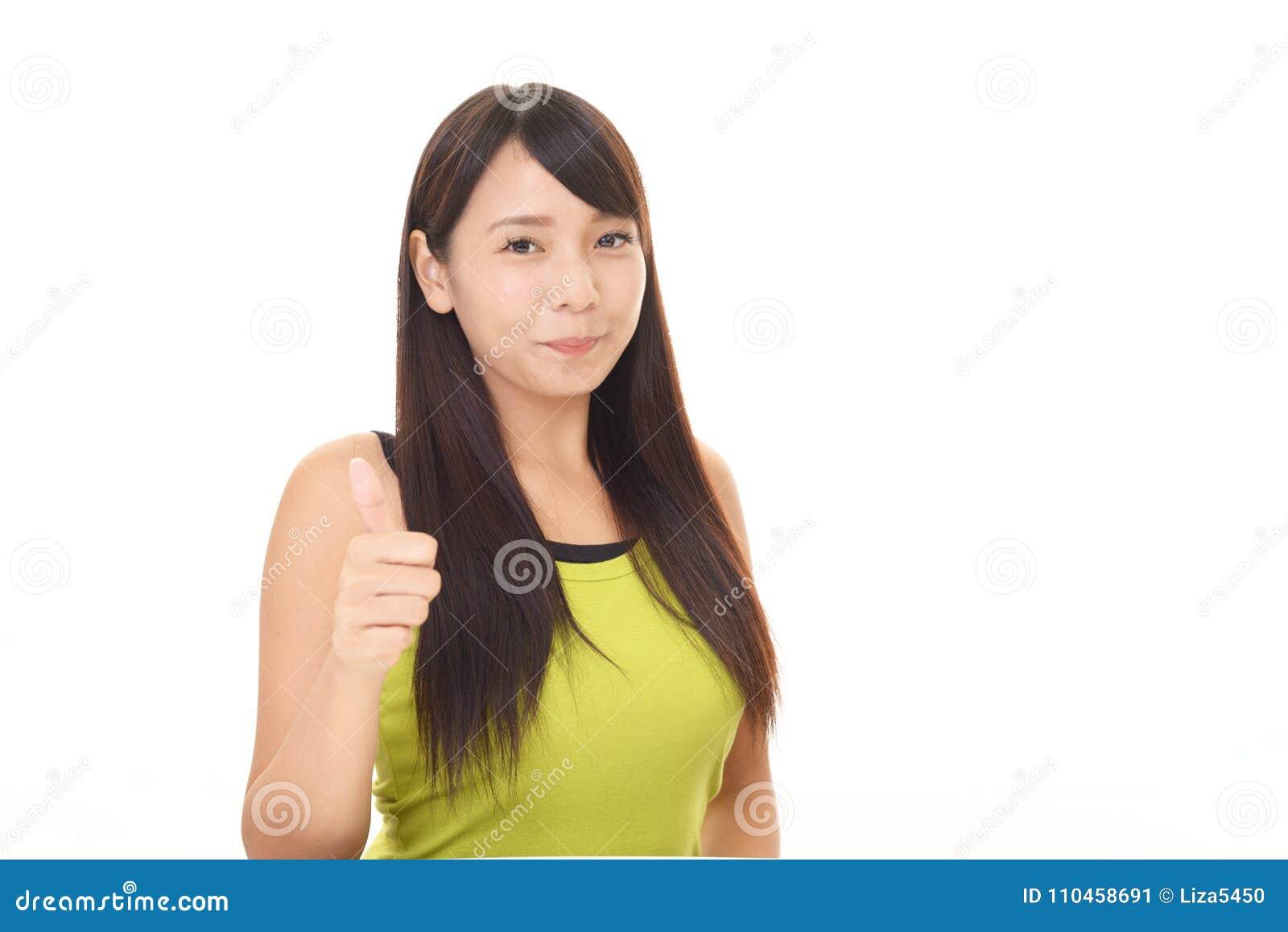 Asiatisk attraktiv kvinna