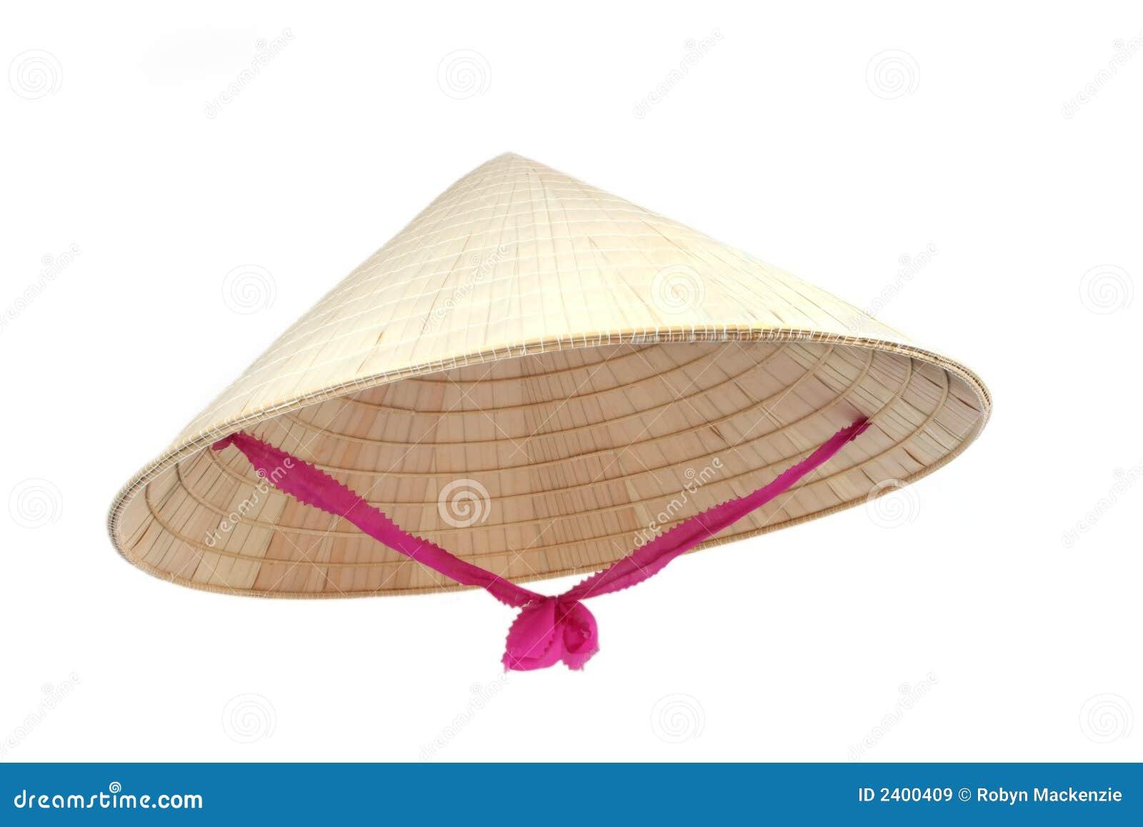 Asiatisk konisk hatt