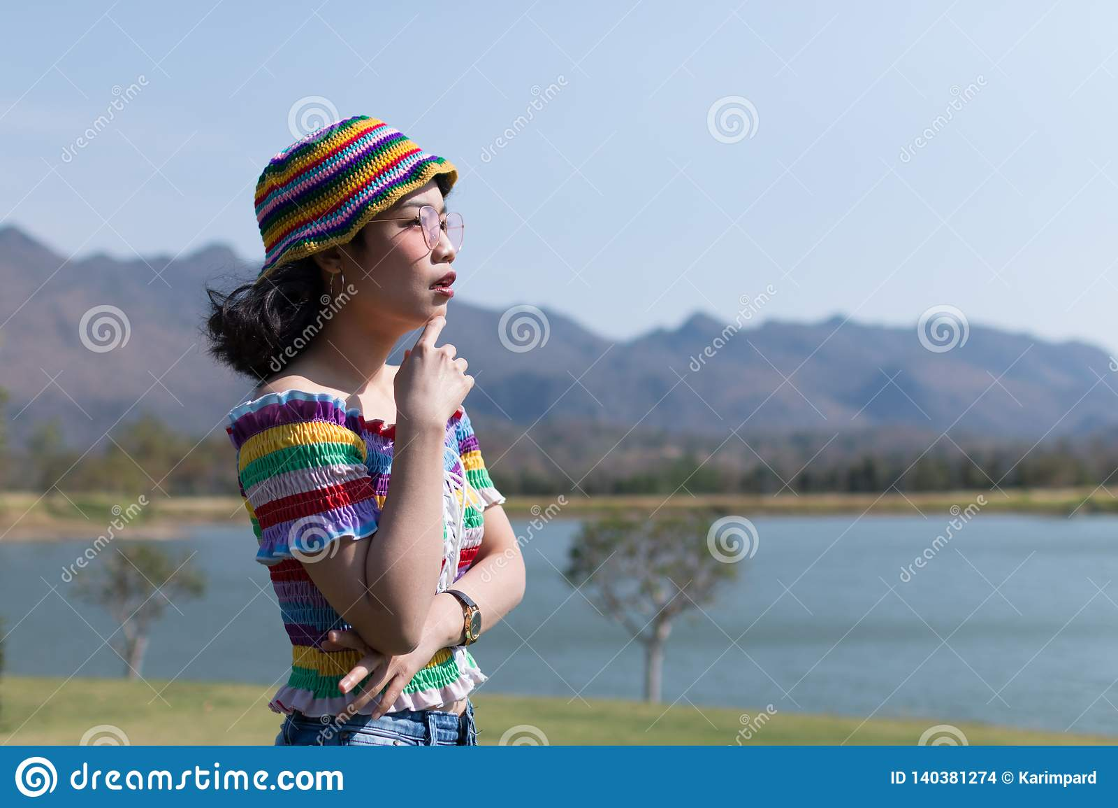 Asiatisk kvinna