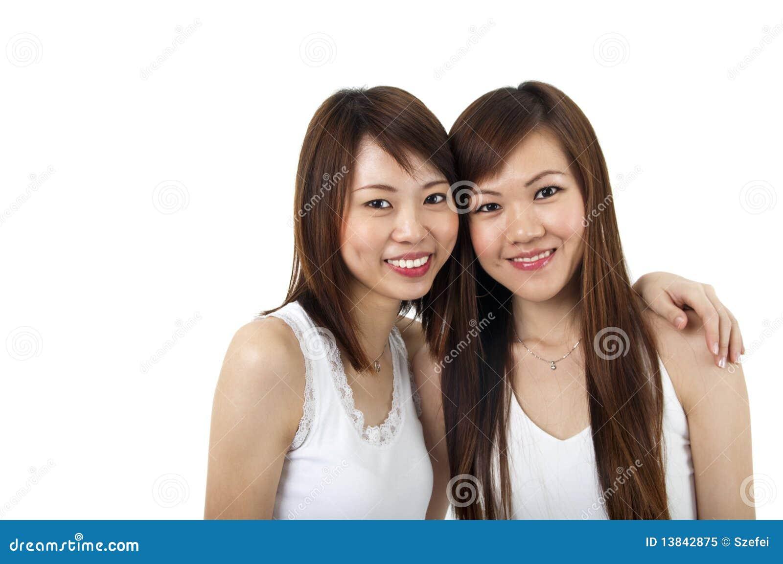 Asiatiska flickor