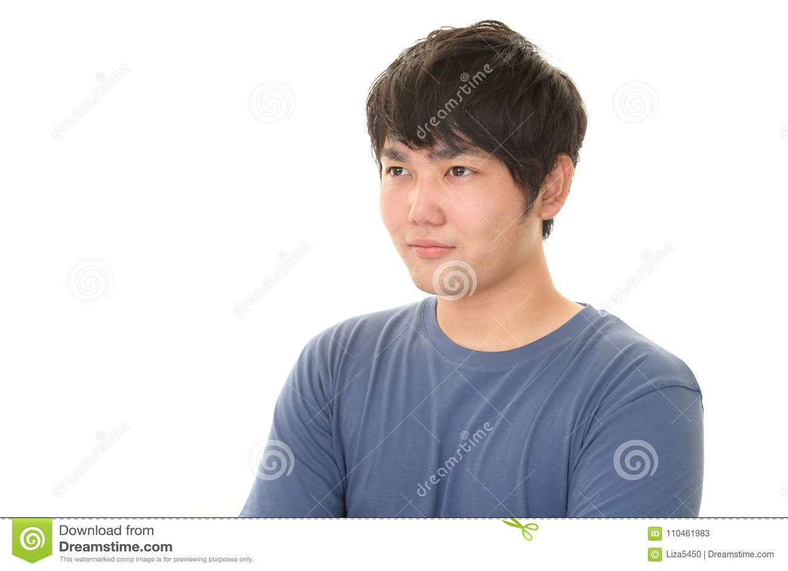 Asiatiskt le för man