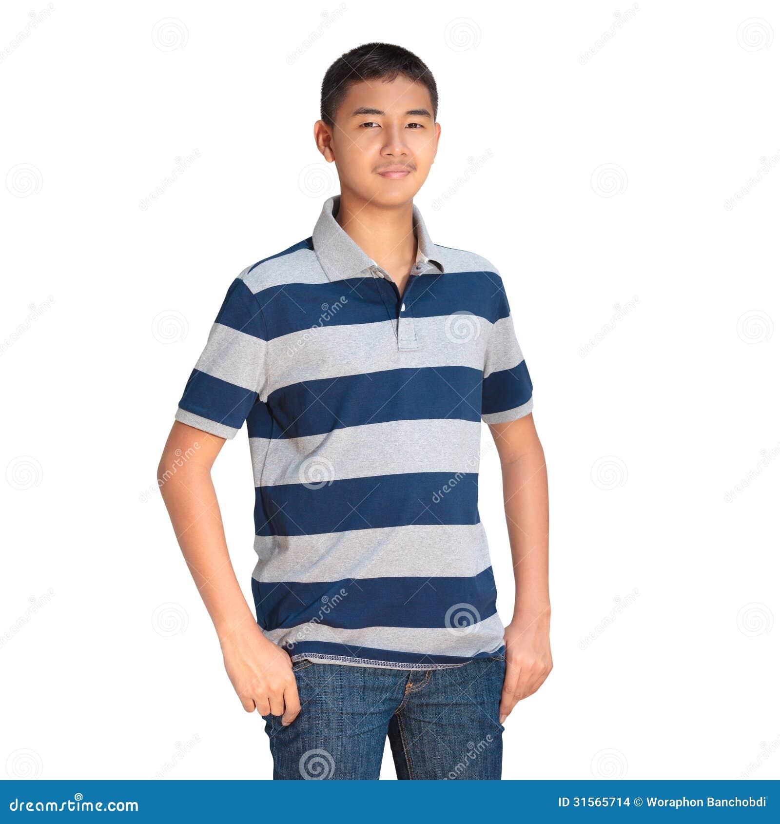 Asiatiskt pojkeanseende för tonåring