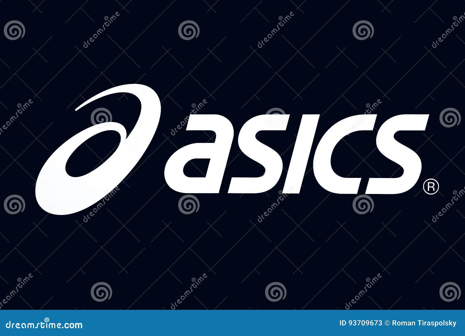 Asics logo editorial stock photo image of dark emblem 93709673 asics logo editorial stock photo buycottarizona Images