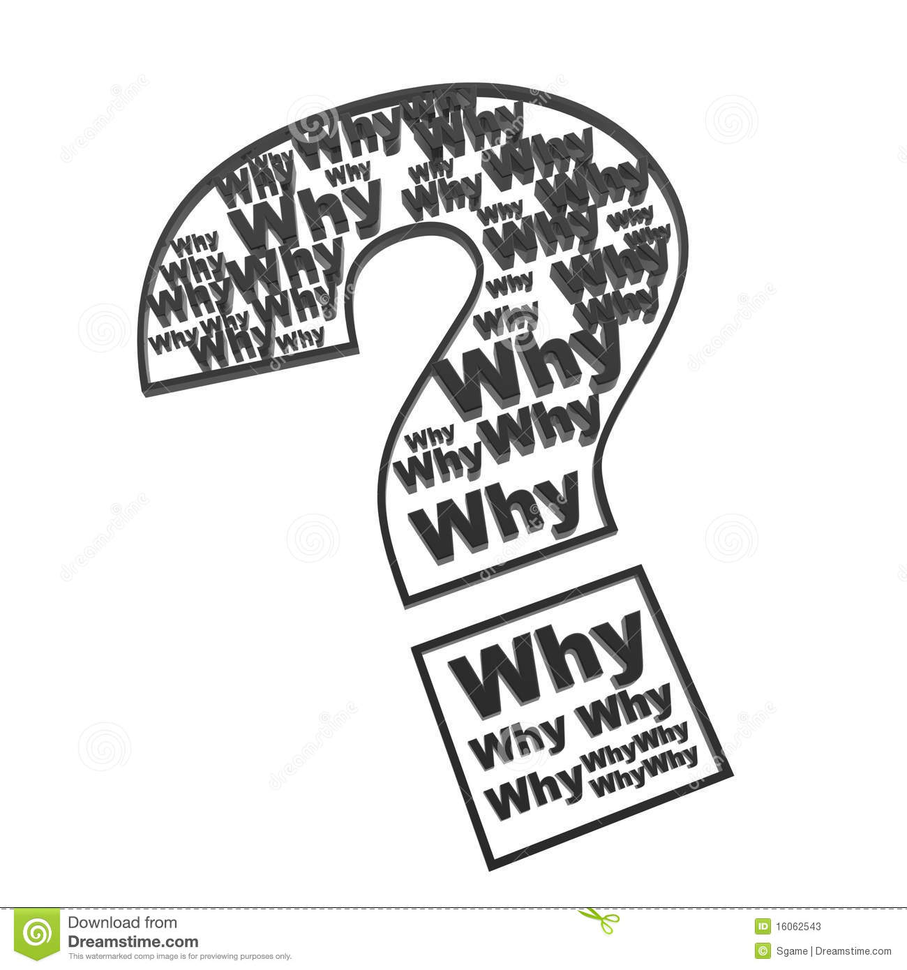 Pics photos clip art cartoon scientist with question mark stock - Ask Why In Question Mark