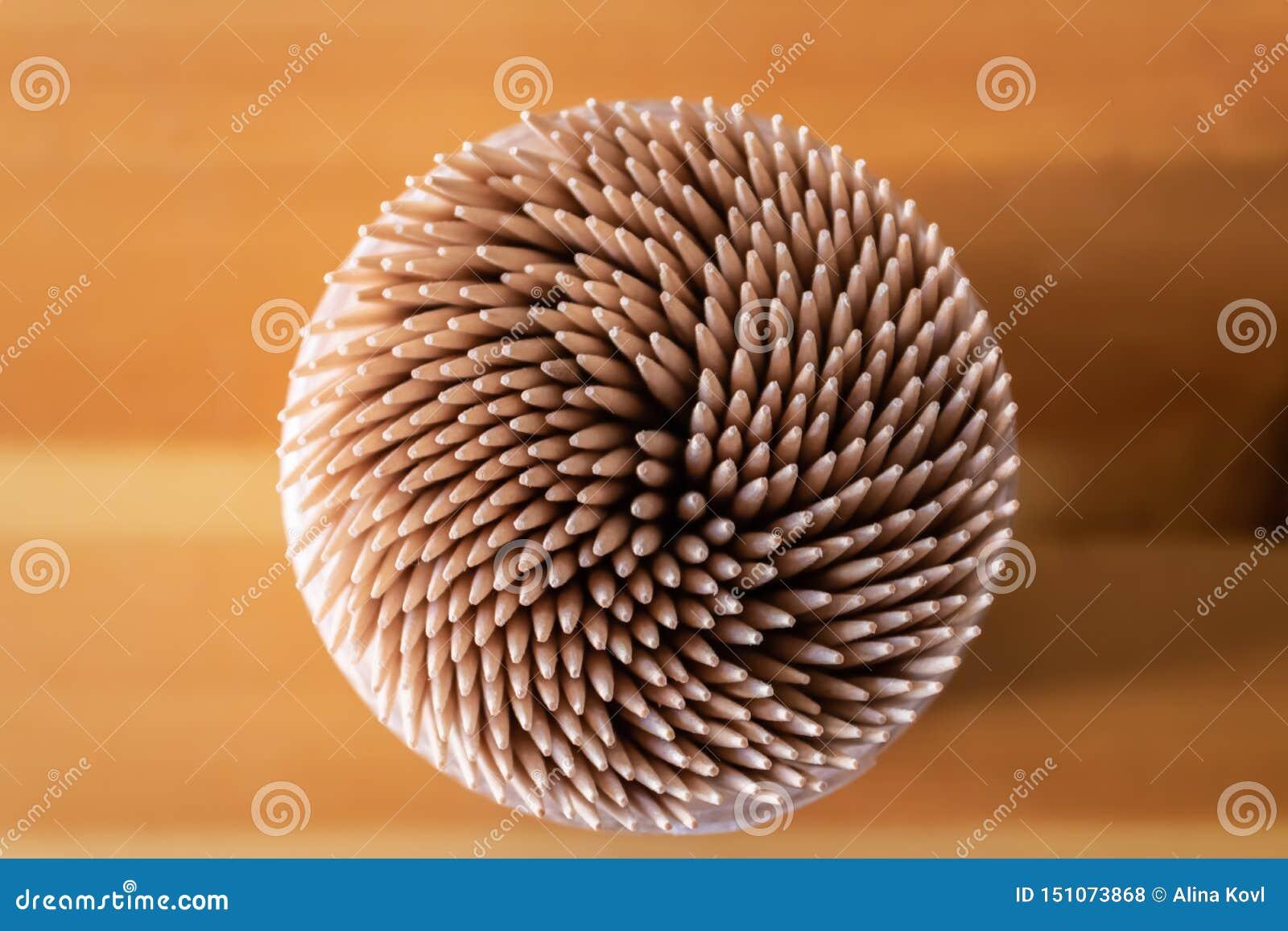 Asken av den bästa sikten för trätandpetare - bild