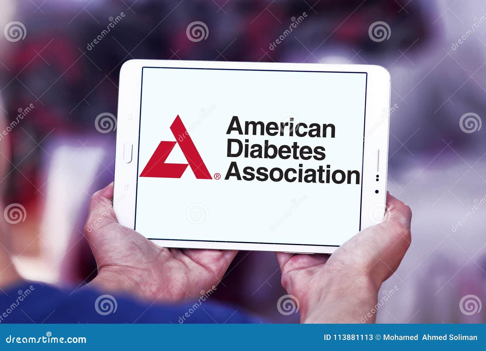 logotipos de la asociación americana de diabetes