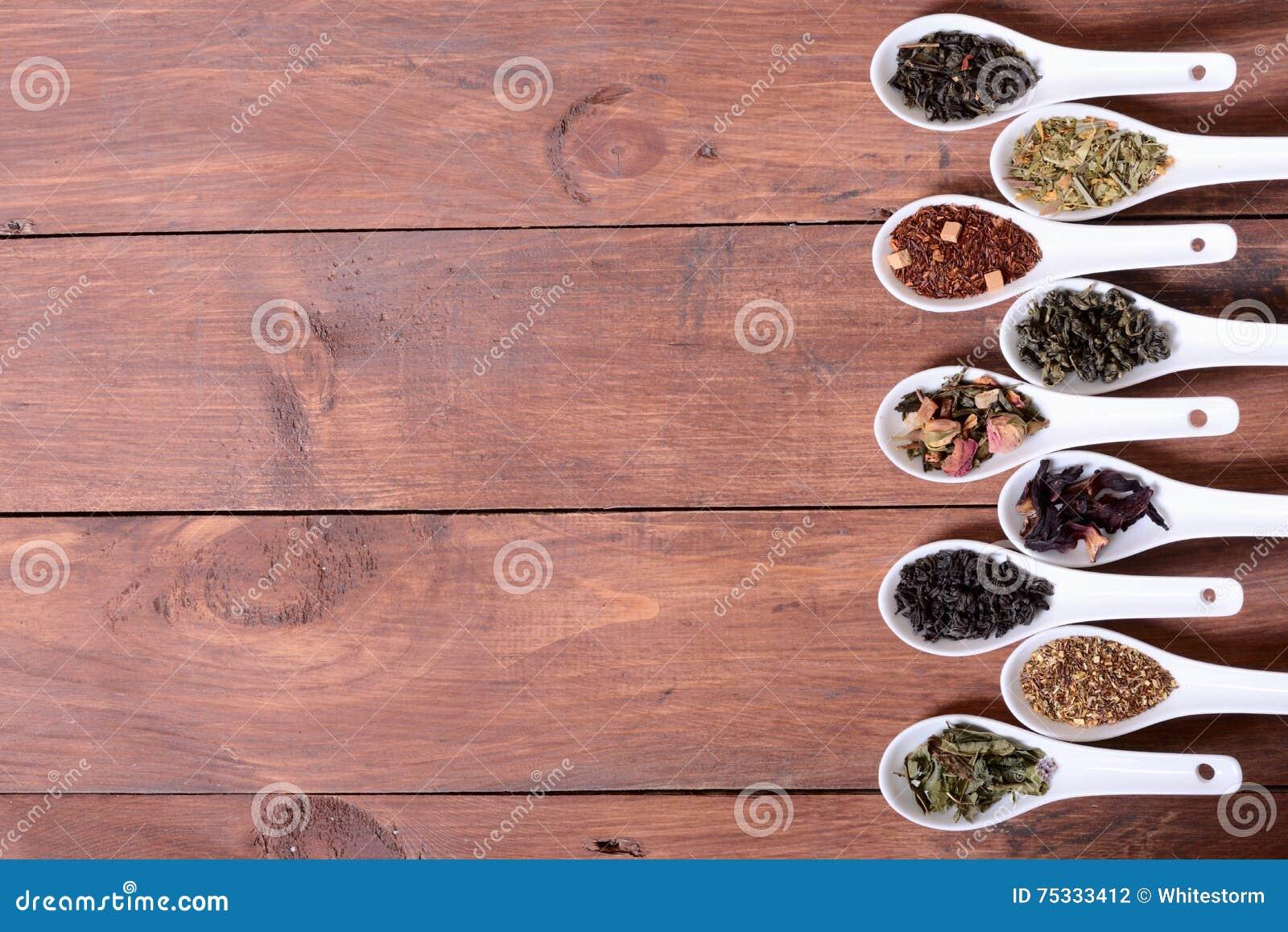 Asortyment sucha herbata
