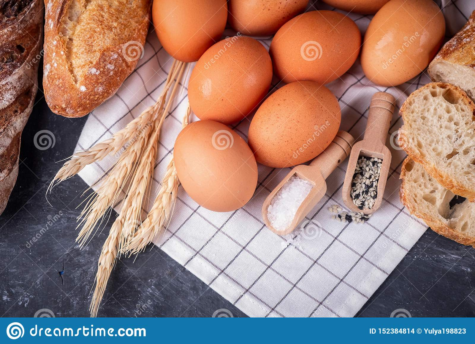 Asortymentu ?wie?y chlebowy chlebowy zdrowy domowej roboty