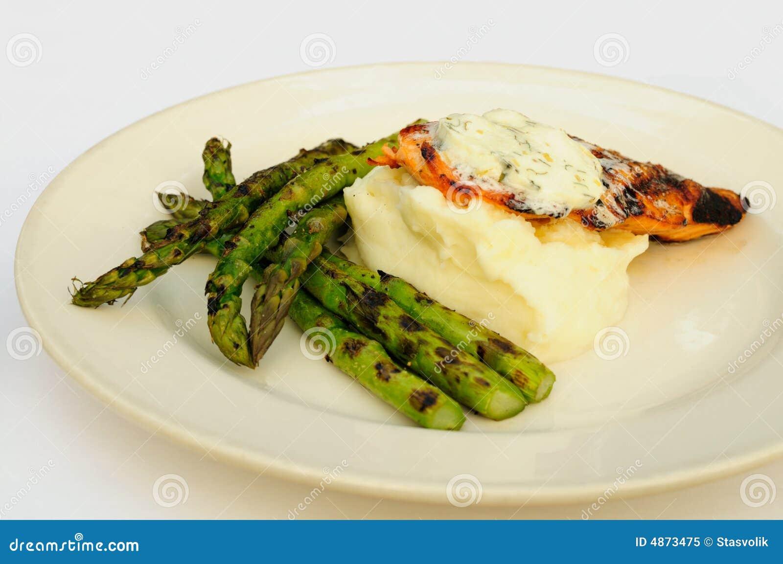 glaze orange salmon with asparagus recipe yummly orange salmon ...