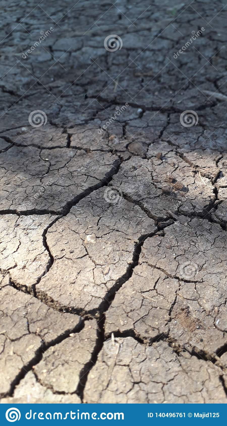 Aspect of drought on earth