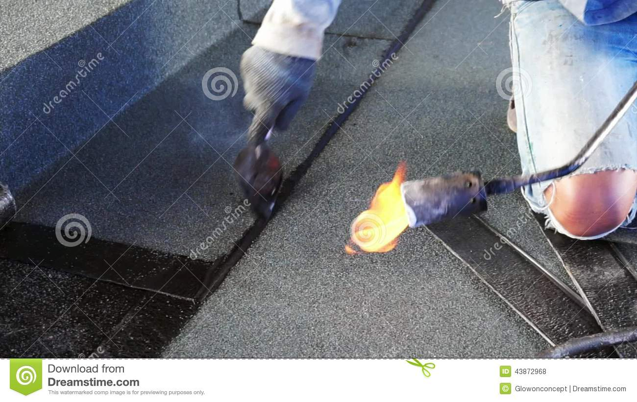Asphalt Roof Coating With Fire, Bitumen Water Protection