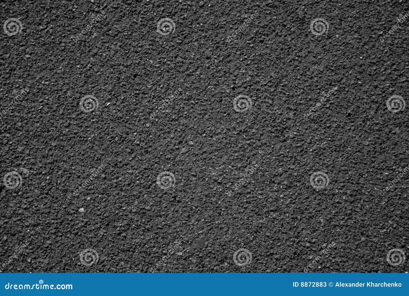 Asphalte noir