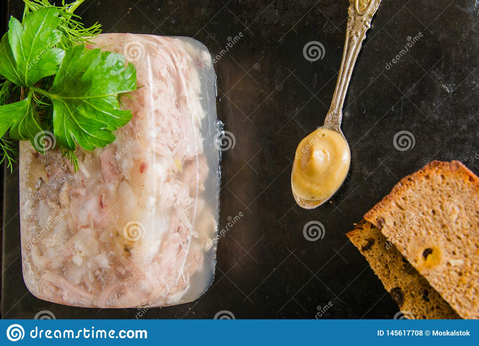 Aspic κρέας