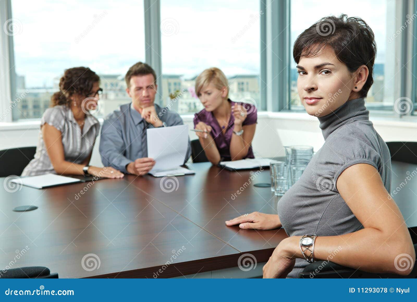Aspirante en la entrevista de trabajo
