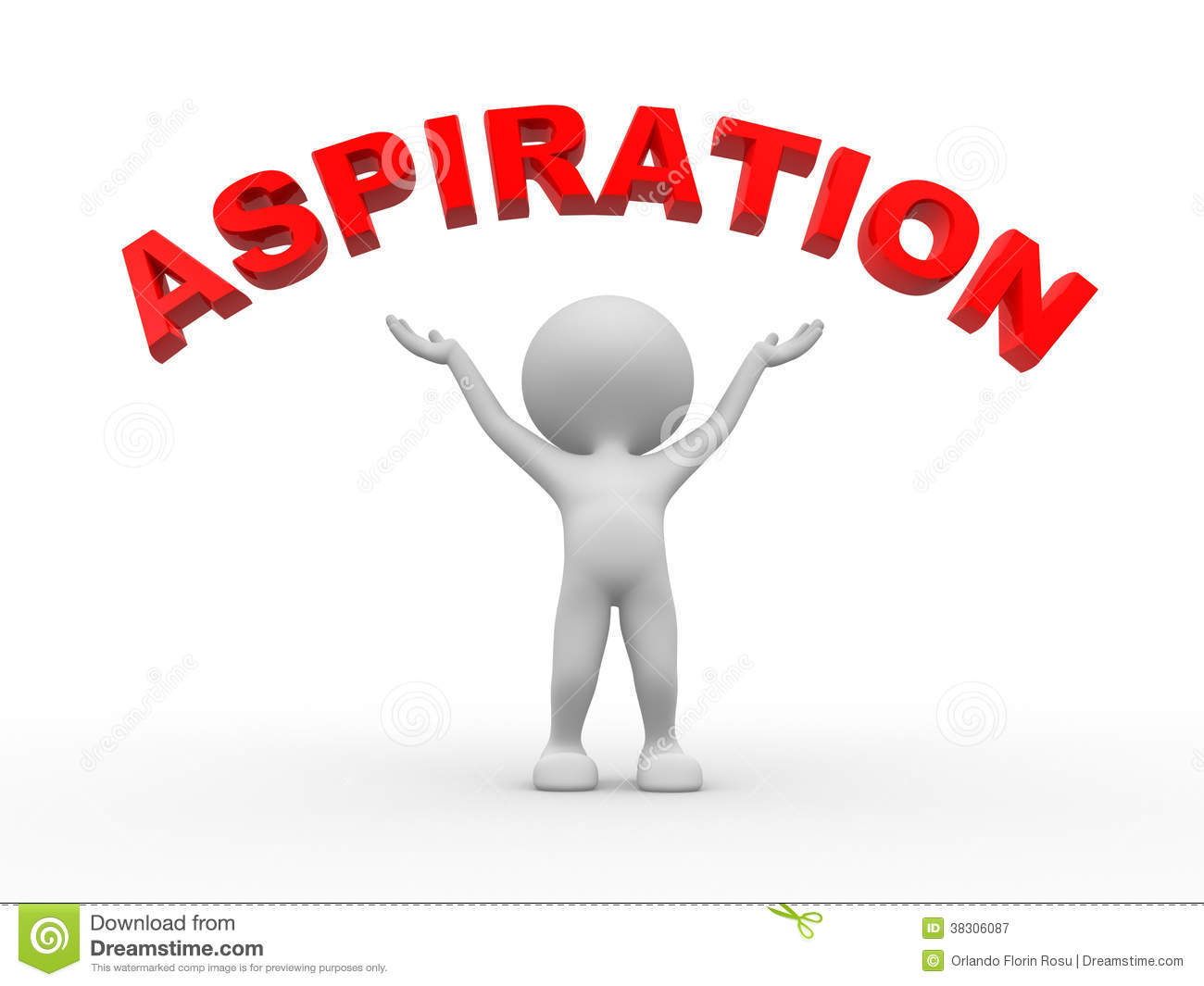 Aspiration Royalty Free Stock Photography - Image: 38306087