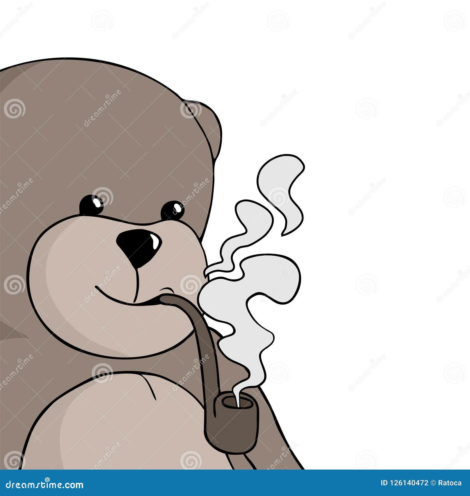 Les3Ours sont dans la place ! Aspiration-de-tabagisme-d-ours-126140472
